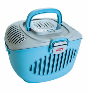 Blue/Grey Living World Paws2Go Small Pet Carrier
