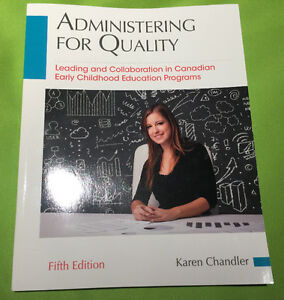 ECE Text book: Administering for quality 5th edition