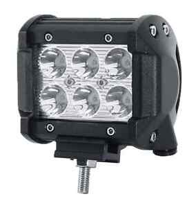 "Cree 4"" 18 watt LED Flood Lights"