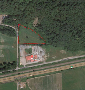 8 acres of storage land available for rent