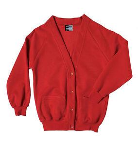 School-Uniform-Girls-Zeco-Quality-Sweatshirt-Cardigan-Sizes-22-38-All ...