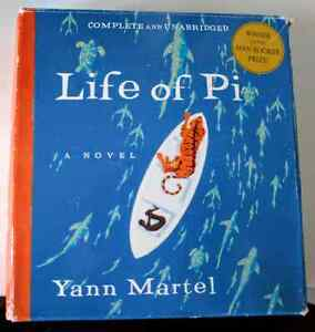 Life of Pi Audiobook Book on CDs