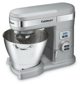 5.5 QT Cuisinart stand mixer with blender & pasta maker