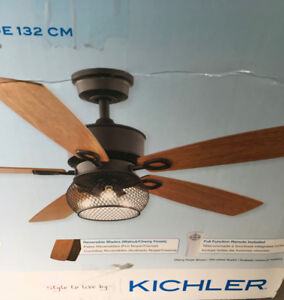 Ceiling Fan and Light by Kichler
