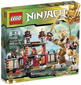 **BRAND NEW SEALED LEGO NINJAGO TEMPLE OF LIGHT SET #70505**