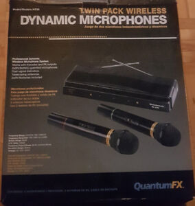 Twin Pack Wireless Microphones