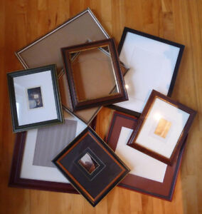 Assorted Custom Picture Frames