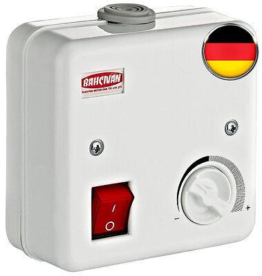Drehzahlregler Drehzahlsteuerung 2 Ampere BSC 1 Ventilator Lüfter Steuerung