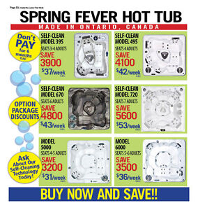 HOT TUB & SWIMSPA HOME SHOW SALE PRICES CONTINUE