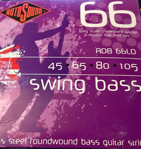 BASS STRINGS Rotosound 66 Swing Bass RBD 66LD