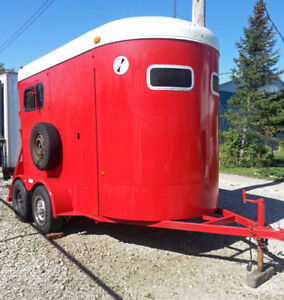 McBride Two-Horse Trailer | Excellent Shape | New Paint!