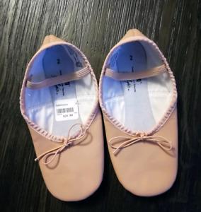 Brand New girl's size 2 ballet slippers