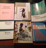 FIRST YEAR SSW BOOKS FOR SALE!!!