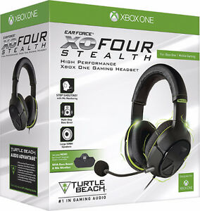 Casque Ear Force XO FOUR Stealth Turtle Beach pour Xbox headset