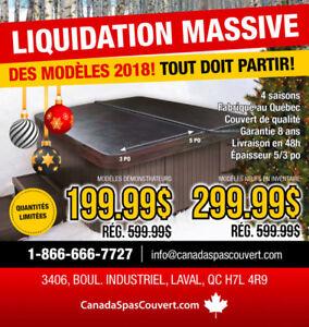 COUVERT DE SPA NEUF! Grande liquidation massive!