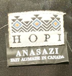 "HOPI ANASAZI Canada -5°C Thinsulate 3M Long ""Mummy"" Sleeping Bag"