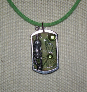 Collage New Age Art Necklaces! ~Handmade, One of a Kind!