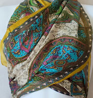100% Pure Silk Scarves, Set of Five-$60