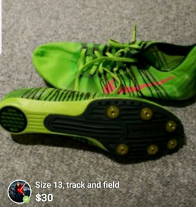 Track and field,  size 13