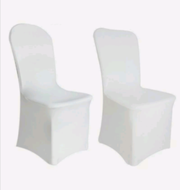 SPANDEX CHAIR COVERS AND ORGANZA SASHES