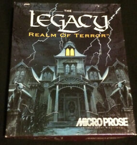 The Legacy:Realm of Terror - Microprose 1993 - Big Box
