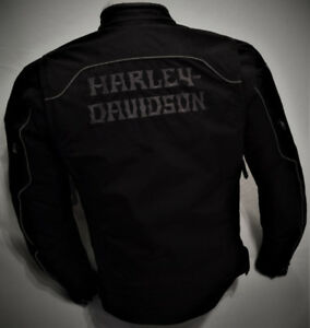 Manteau HARLEY Homme SMALL Polyester Ventilé 125$ LVO
