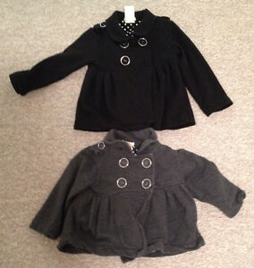 JOE PETTI SWEATSHIRT TODDLER SZ 3 BLACK, GREY