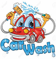 Fundraising Car Wash - Saturday, Aug 5th 9.30 - 11.30 am