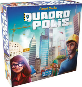 Brand New Sealed - Quadropolis - Board Game