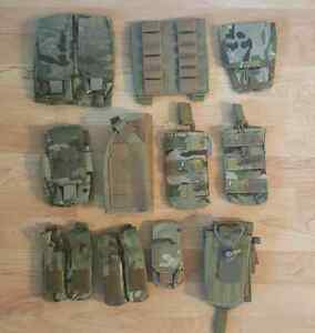 Miscellaneous new and used tactical gear $140 for everything