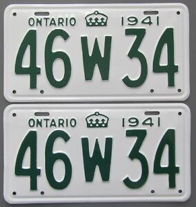 Classic Car YOM License Plates - Ministry Approval Guaranteed Kitchener / Waterloo Kitchener Area image 4