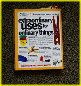 """VINTAGE  BOOK """" Extraordinary Uses for Ordinary Things"""""""