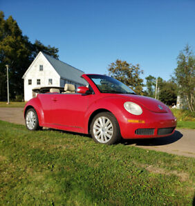 Super Cute 2008 Volkswagen New Beetle 2.5 Convertible