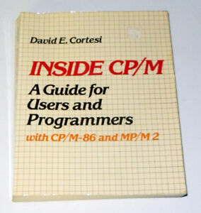 Inside CP/M: A Guide For Users and Programmers