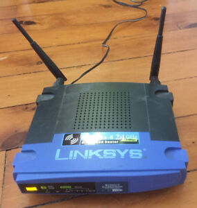 Linksys WRT54GL Wireless G router