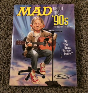 """Mad Magazine """"Mad about the 90's"""" - $10 or best offer"""
