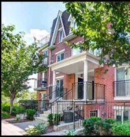 Spacious Liberty Village 2+1 Stacked Townhouse/Condo. Parking