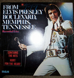FROM ELVIS PRESLEY BOULEVARD, MEMPHIS, TENNESSEE (1976) Vinyl LP London Ontario image 1