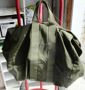 Military Carry Bag Green Zippered