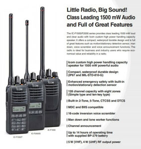 ICOM Two Way Radios.