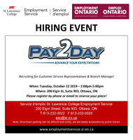 Hiring Event with PAY2DAY