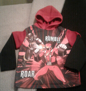 Size 5/6 Power Ranger hoodie pullover
