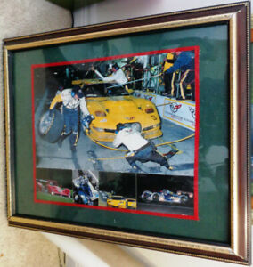 Dale Earnhardt Goodwrench Corvette 24 Hours of Daytona Framed