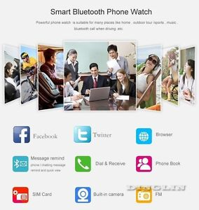 NEW SIM TAKING SMART WATCH - A COMPLETE SMART PHONE WATCH Regina Regina Area image 2