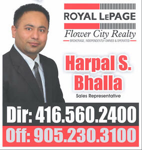 BRAMPTON ,  CALEDON HOMES SALE