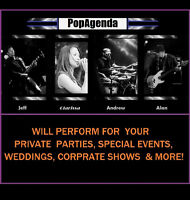 POPAGENDA Band Available for Special Events, Weddings & More!