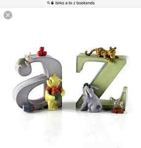 Birks A to Z Bookends