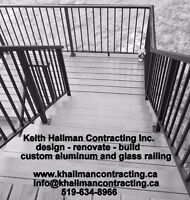 ALUMINUM/GLASS RAILING - ASSEMBLER/INSTALLER
