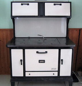 Antique Cook stove from Guelph Stove Co, Ont, Canada