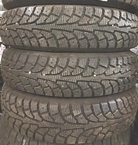 TIRES 13 INCH 99%===P155/80R13===(((4TIRES)))Hankook Ipike RSV 1